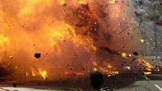Eight injured in cylinder blast