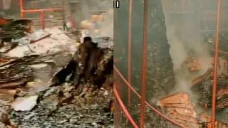 Mumbai's Crawford Market fire guts over 60 shops in; none hurt