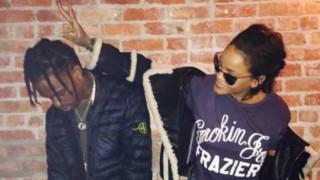 Rihanna, Travis Scott get cosy in nightclub