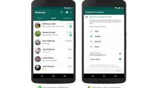 WhatsApp backup soon available on Google Drive