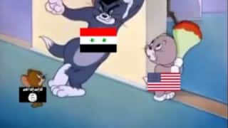Syrian problem explained by Tom and Jerry cartoon