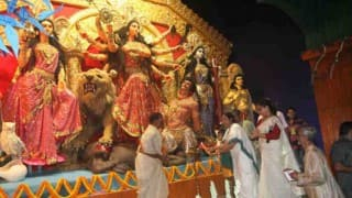 Trinamool has brought politics brought into Durga Puja celebrations