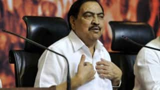 Hacker moves High Court against Eknath Khadse, Congress demands his sacking