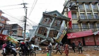 Nuns help rebuild quake-hit Nepal houses