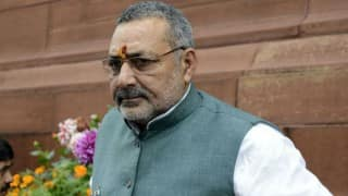 Union Minister Giriraj Singh Stokes Controversy, Says All Muslims Are Descendants of Ram