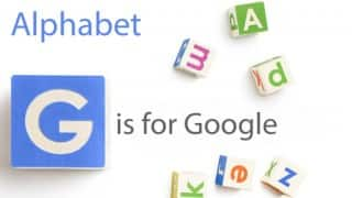 It's official! Google becomes Alphabet Inc today onwards
