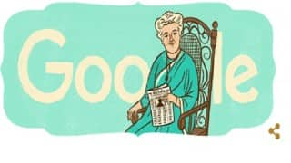 Google Doodle commemorates Annie Besant on her 169th birth anniversary