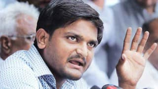 Patidar quota stir leader Hardik Patel to walk out of jail on July 15