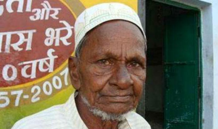 Hasim Ansari, the real Ram Bhakt