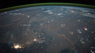 NASA gives the world a glimpse of Indo-Pak border from space