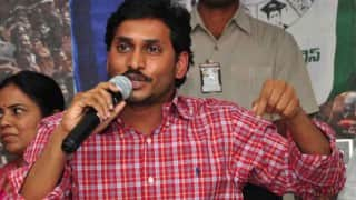 Jagan Mohan Reddy continues fast for special status to Andhra Pradesh
