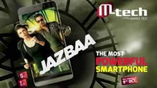 M-Tech launches smartphone 'Jazbaa': Named after Aishwarya Rai Bachchan & Irrfan Khan movie