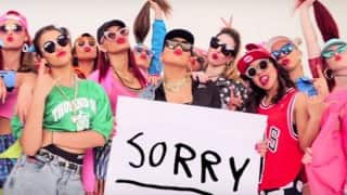 OUT NOW! Justin Bieber's new single Sorry dance video: Watch it here!