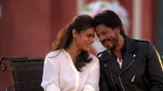Shah Rukh Khan and Kajol relive Dilwale Dulhania Le Jayenge moments! (Must watch video)