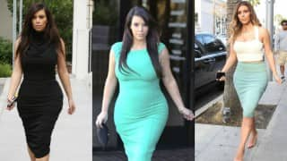 Kim Kardashian learned to embrace her curves