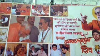 PM Modi is 'dhongi', says Shiv Sena; puts up posters showing him bowing down to Bal Thackeray