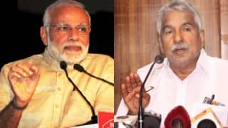 Narendra Modi wishes happy birthday to 72 year old Kerala Chief Minister Oommen Chandy