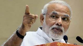 Narendra Modi makes courtesy calls on Atal Bihari Vajpayee, George Fernandes