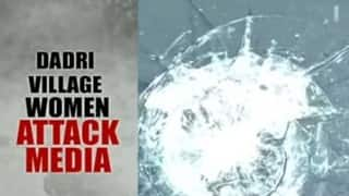 TV channel crew attacked by women in Dadri; cameraperson injured