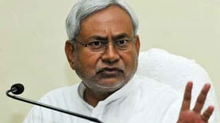 NDA desperate, staring at defeat in Bihar polls: Nitish Kumar