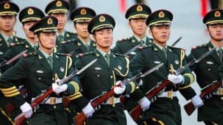 Chinese troops banned from joining foreign NGOs