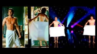 Ranbir Kapoor, this elegant Naked Towel Dance will make you redo the Saawariya act!
