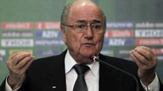 Sepp Blatter free of FIFA burden, backs Gianni Infantino