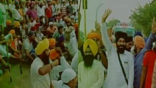 Sikhs continue protests in Taran Taran village over profanation of Holy Scripture Guru Granth Sahib