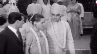 Unseen footage of Rajiv Gandhi and Sonia Gandhi's wedding reception (Watch video)