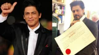Shah Rukh Khan becomes doctor: SRK conferred with Honorary degree at the Edinburgh University