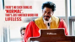 9 Shah Rukh Khan inspiring quotes from Edinburgh speech: SRK received honorary doctorate for philanthropic work!