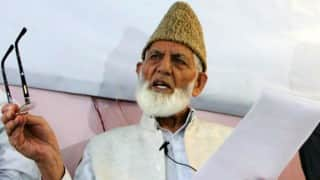 Syed Ali Shah Geelani, other Kashmiri separatist leaders prevented from attending Zahid Rasool's condolence meeting