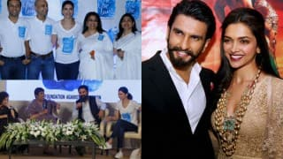 Ranveer Singh is proud of Deepika Padukone's new venture Live Love Laugh Foundation (In Pics)