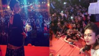 Yeh Hai Mohabbatein: Divyanka Tripathi a.k.a. Ishita enjoys garba night in Raipur