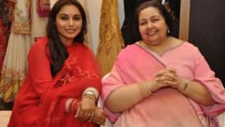 Rani Mukerji's mother-in-law Pamela Chopra speaks on welcoming her first grandchild