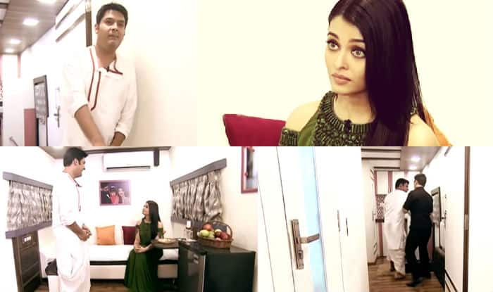 Kapil Sharma thrown out of Aishwarya Rai Bachchan's vanity van!
