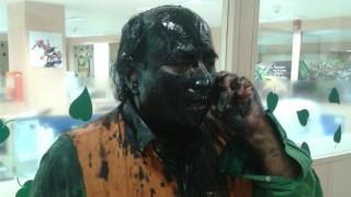 6 Shiv Sena workers held for paint attack on Sudheendra Kulkarni
