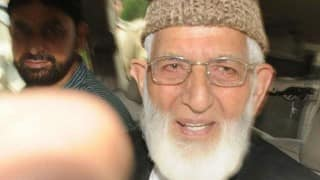 Syed Ali Shah Geelani, Hurriyat chairmen, separatists under house arrest