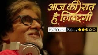 Aaj Ki Raat Hai Zindagi first episode review: Amitabh Bachchan's new show doesn't quite impress!