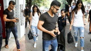 Virat Kohli & Anushka Sharma's marriage on cards: Couple pictured with Anushka's dad on lunch date!