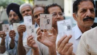 बिहार में दूसरे चरण के लिए मतदान जारी