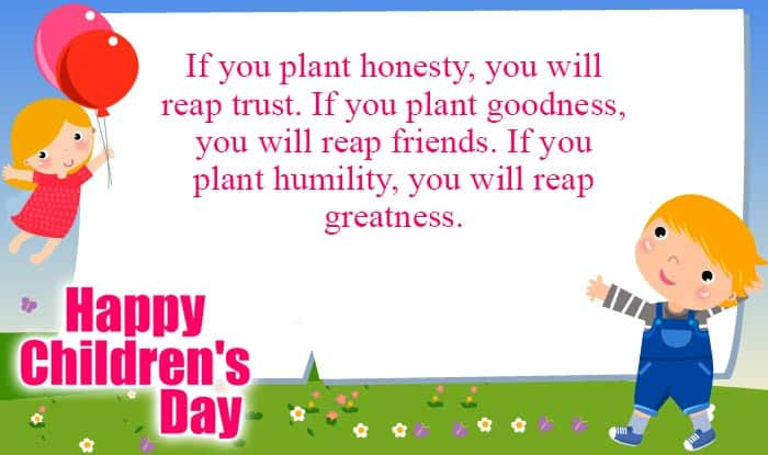 Happy Children's Day 2016 Quotes: Wishes, SMS, Messages ...