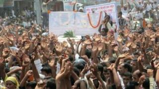 Madhesi protesters vandalise vehicles, torch truck near border
