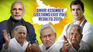 Bihar Assembly Elections 2015 Exit Poll Results Live Updates: NDA to win over Grand Alliance, by small margin, with 123 seats