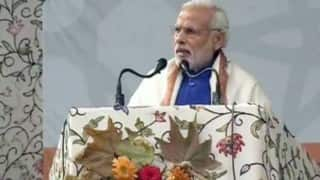 Narendra Modi says India incomplete without Kashmir