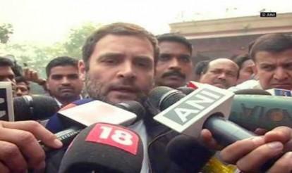 Public pressure forced Narendra Modi to invite Sonia Gandhi, Manmohan Singh for talks: Rahul Gandhi