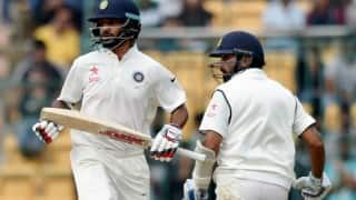 Rain washes out third day's play in Bengaluru Test