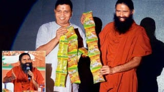No approval for Patanjali instant noodles: FSSAI