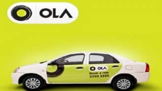 Ola Cab driver charged for misbehaving with woman passenger