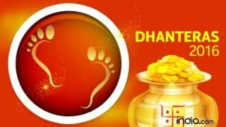Dhanteras 2016 Date & Significance: When is Dhanteras? Why Dhantrayodashi is celebrated during Diwali?